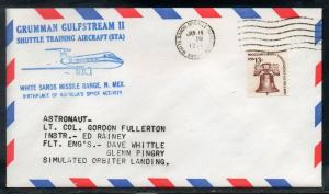 Gulfstream II Space Shuttle Training Flight  1/18/1977 D567