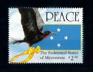 [72235] Micronesia 1991 Bird Peace Operation Desert Storm  MNH