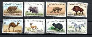 1968- 1969- Tunisia- Fauna - Animals- 2 Complete issue 8v.MNH**