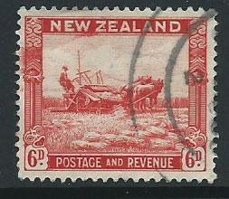 New Zealand SG 585 FU perf  13½ x 14