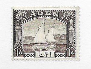 Aden #3 MH - Stamp - CAT VALUE $4.50