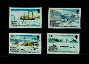 British Antarctic Territory: 1985 50th Anniversary Graham Land Expedition  MNH