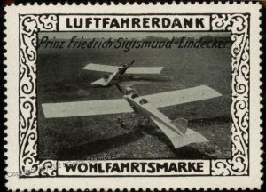 Germany Prinz Friedrich Sigismund WWI Air Force Luftfahrerdank Flight MN G102830