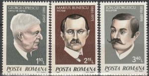 Romania #2985-7  MNH F-VF (V3837)