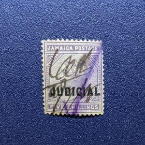 Jamaica Barefoot 8 F-VF Judicial Revenue, CV $10