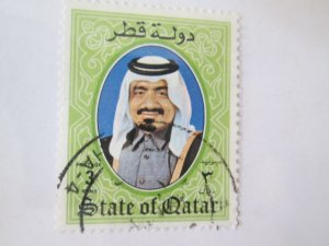 Qatar #657 used  2019 SCV = $3.00