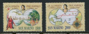 San Marino #1249-50 MNH