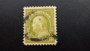 United States  Benjamin Franklin 8c Used