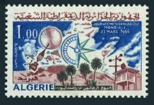 Algeria 351,MNH.Michel 451. World Meteorological Day,1966.