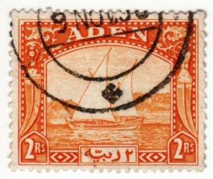 Aden #10 Used, CV $40   .....  0020009