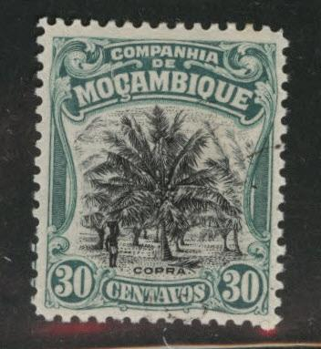 Mozambique  Company Scott 134 used CTO stamp