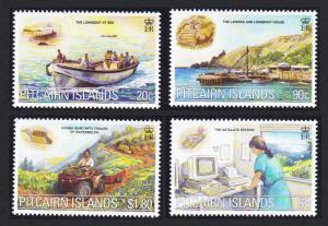 Pitcairn Millennium Commemoration 3rd issue Communications 4v SG#577-580
