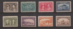 Canada 1908 Quebec Tercentenary Issue Full Set Complete Sc#96-103 Mint