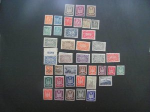 GERMANY 1922 MNH  MINR. 210-223,235-337 INFLATION MISSING 1 STAMP