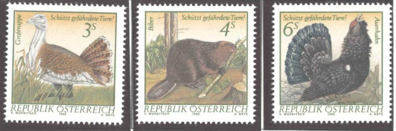 Austria Osterreich Scott 1221-1223 MNH** 1982  stamp set