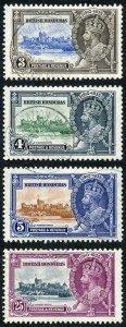 British Honduras SG143/46 1935 Silver Jubilee Set Fine Used