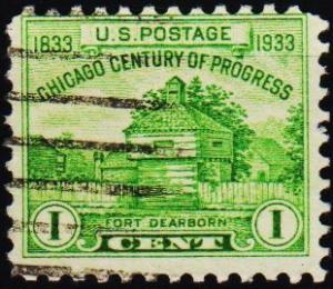 U.S.A. 1933 1c S.G.727 Fine Used