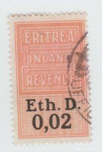 UK Italy Eritrea Ethiopia Africa fiscal revenue Stamp 5-11-21-b3