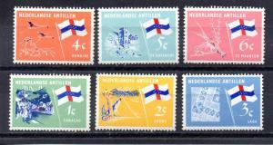 Netherlands Antilles 295-300 MNH