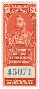 (I.B) Canada Revenue : Electricity & Gas Inspection $1