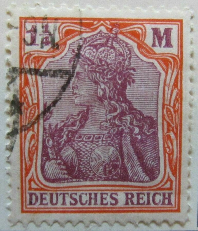 A6P44F121 Germany 1920-21 1 1/4m used