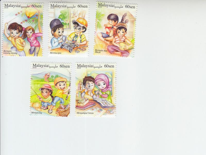 2018 Malaysia Leisure Activities (5)  (Scott 1793-97) MNH