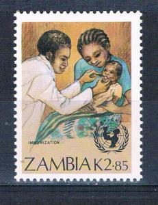 Zambia 442 MNH Child Immunization 1988 (Z0004)+