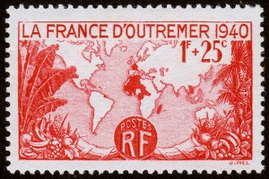 France Scott B96 (1940) Mint LH VF C