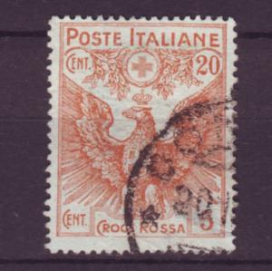 J21579 Jlstamps 1915-6 italy used hv of set #b3 eagle $65.00 scv