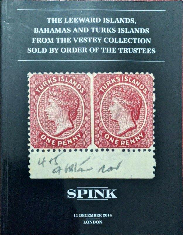 Auction Catalogue Vestey Classic LEEWARD ISLANDS BAHAMAS TURKS ISLANDS