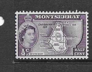 Montserrat #146  Queen Elizabeth  (MH) CV $0.65