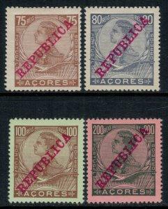 Azores #133-6*  CV $5.00