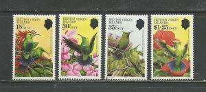 British Virgin Islands # 422-425 Unused Hinged