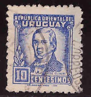 Uruguay Scott 543 Used stamp