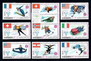 [70331] Yemen Kingdom 1968 Olympic Games Ice Hockey Figure Skating Luge  MNH