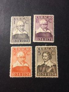 Netherlands Antilles sc 110-112, 114 MHR