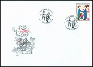 Slovakia 1994 FDC 27 International Year of Family