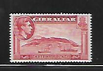 GIBRALTAR, 109, MINT HINGED, VIEW OF MARINA