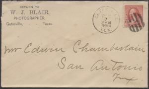 TEXAS CORYELL COUNTY (1894 Gatesville)
