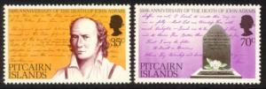 Pitcairn Islands Sc# 182-3 MNH John Adams