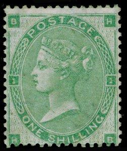 SG90, 1s green, LH MINT. Cat £3200. HB