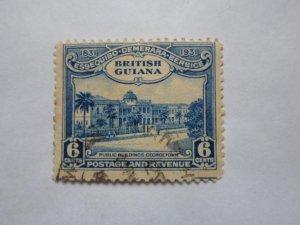 british guiana stamP USED NO HINGE # 8