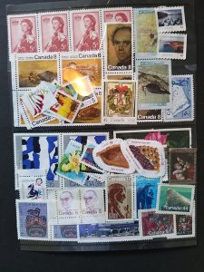 Lot Canada 50 stamps