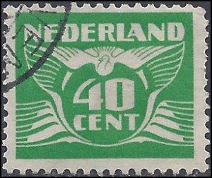 Netherlands #243p 1941 Used