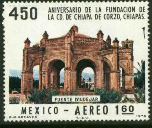 MEXICO C555 450th Anniv of Chiapa de Corzo, Chiapas MNH