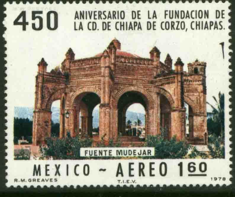 MEXICO C555 450th Anniv of Chiapa de Corzo, Chiapas MINT, NH. VF.