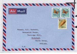 CE180 Kenya KUT Stamp Air Mail Cover