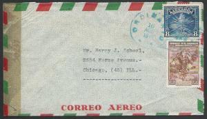 SALVADOR 1944 censor cover to USA..........................................27431