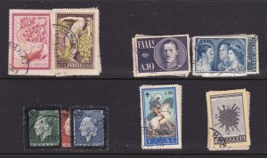 Greece x 5 used sets earlier types