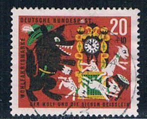 Germany B394 Used Grim Brothers (GI0582P161)+